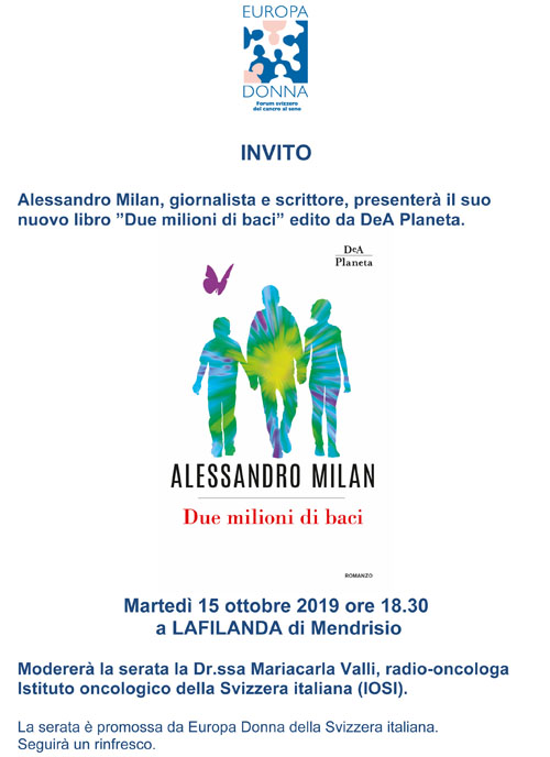 Invito Alessandro Milan